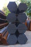 Budowy miejsca żelaza akcydensowi materiały budowlani obrazy stock
