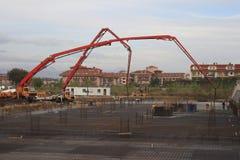 budowy miejsce hotelowy nowy zdjęcie stock
