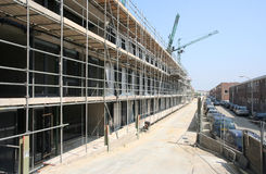 budowy mieszkań Obrazy Royalty Free