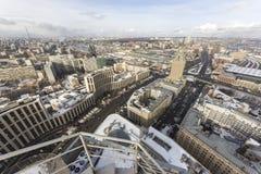 Budowy na drapaczu chmur zdjęcie royalty free
