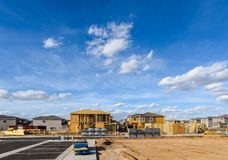 budowy nowego domu Obrazy Stock