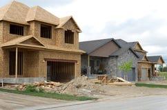 budowy nowego domu obraz royalty free