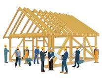 budowy nowego domu ilustracji
