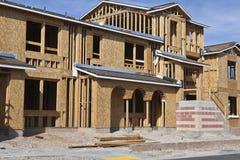 budowy nowy domowy Fotografia Stock