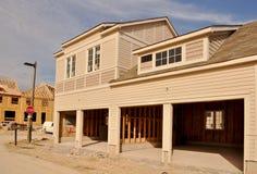 budowy nowy domowy Obrazy Stock