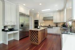 budowy nowy domowy kuchenny Zdjęcie Stock