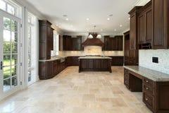 budowy nowy domowy kuchenny wielki Zdjęcia Stock