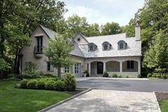 budowy nowy frontowy domowy fotografia royalty free