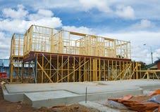 budowy nowy otokowy domowy Obrazy Stock