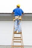 budowy odosobniony ładny stroju pracownik obrazy stock