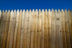 budowy płotowy prywatności miejsce Fotografia Stock