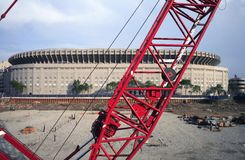 budowy parkowy stadium jankes Obrazy Stock