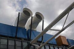 Budowy Pompidou centrum zakończenie up Obraz Royalty Free