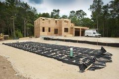 budowy poniższy domowy nowy Zdjęcia Stock