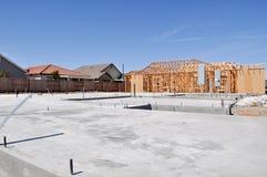 budowy poniższy domowy nowy Zdjęcie Stock