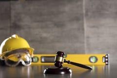 Budowy prawo obraz royalty free