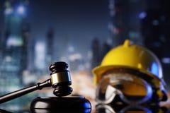 Budowy prawo obraz stock