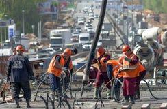 budowy przykopu instalacyjne drogowe pracy Zdjęcie Stock