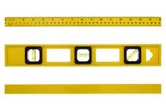 budowy różni pozioma narzędzia widok Zdjęcie Stock