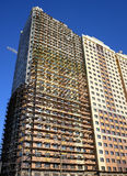 Budowy rusztowanie na nowym wieżowu Fotografia Royalty Free