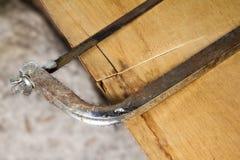 budowy salowa obrazu rolownika narzędzia ściana Zdjęcie Royalty Free