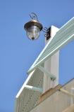 budowy samotna lampa Zdjęcie Stock