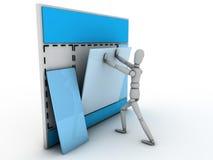 budowy strona internetowa Zdjęcia Stock