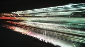 Budowy technologii abstrakta tło royalty ilustracja