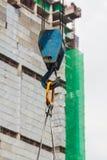 Budowy żurawia haczyk Obrazy Royalty Free