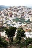 budowy w wioski Morocco Africa polu Fotografia Stock