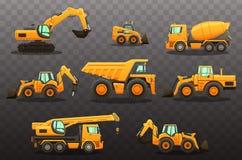 Budowy wyposażenia set Wektoru eps10 odosobnione ilustracje ilustracja wektor