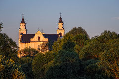 Budslav教会 免版税图库摄影