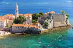 Budua, Montenegro immagine stock