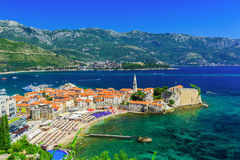 Budua, Montenegro Fotografia Stock