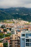 Budua, Montenegro, la vista dal grattacielo nella c Fotografia Stock Libera da Diritti