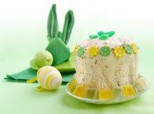 budujący Easter formularzowy królika serviette Zdjęcie Stock
