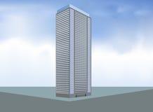 Budujący mieszkanie własnościowe układ Zdjęcie Stock