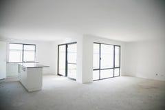 budujący pusty domowy wnętrze niedawno obrazy royalty free