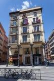 Budujący w Zaragoza, Hiszpania Obraz Stock