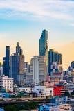 Budujący z niebem w Bangkok, Tajlandia obrazy stock