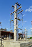 Buduje konstrukci miejsce Thailand Zdjęcie Royalty Free