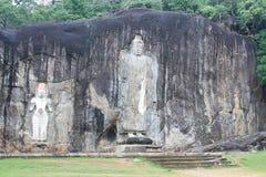 Buduruwagala Buddha Sri Lanka Stockfoto