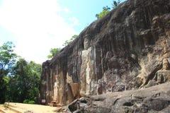 Buduruwagala temple Stock Photography