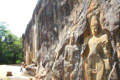Buduruwagala temple Stock Image