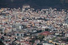 Budva-Überblick Lizenzfreies Stockbild