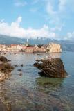 Budva. Old town of Budva, Montenegro Stock Photos