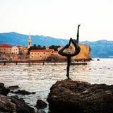 Budva alte Stadt, Montenegro Lizenzfreies Stockbild