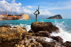 Budva bay Stock Image