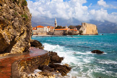 Budva bay Royalty Free Stock Images