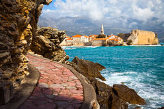 Budva bay Royalty Free Stock Photos